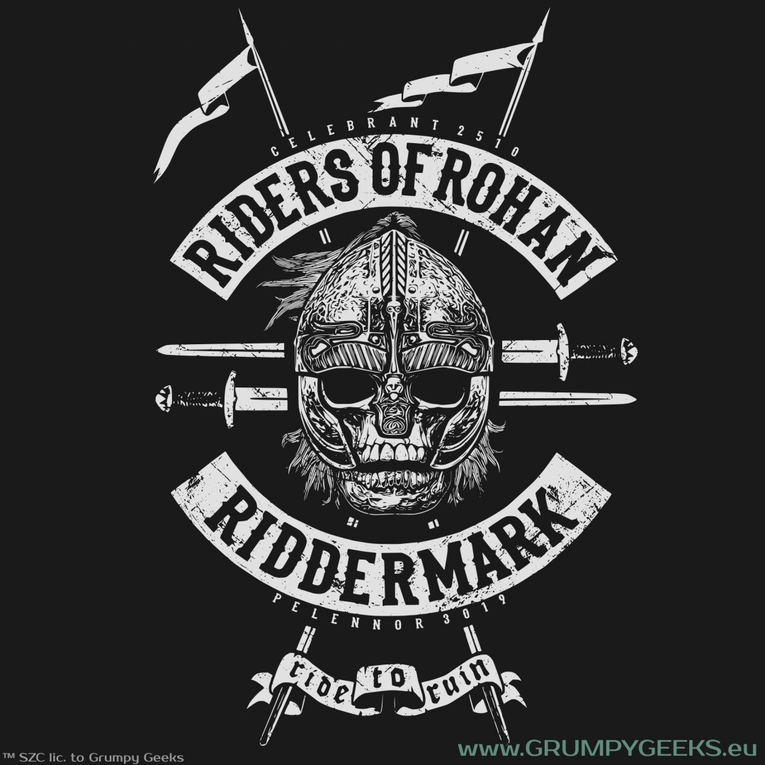 Riders of rohan t shirt middle earth collection for Rohan design
